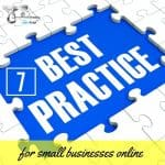 7 Best Practices for Small Businesses Online