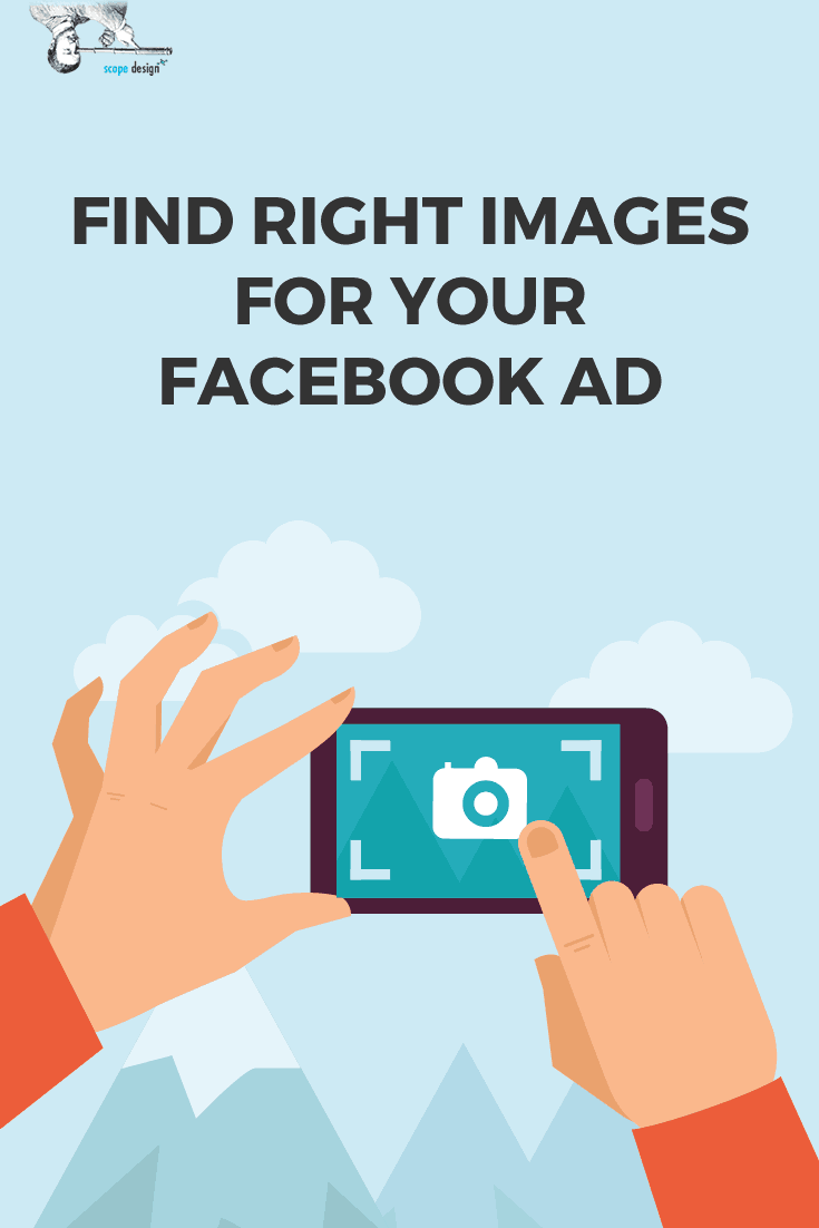 Finding Image Facebook Ad Pin