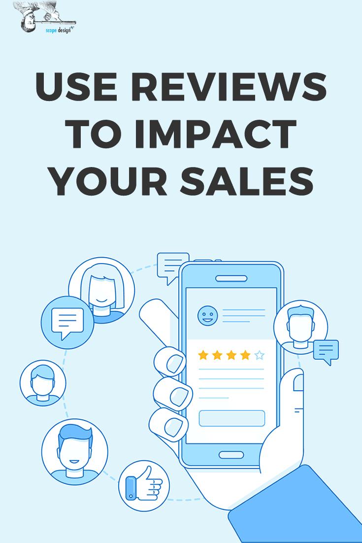 Use Reviews to Impact Sales Pin