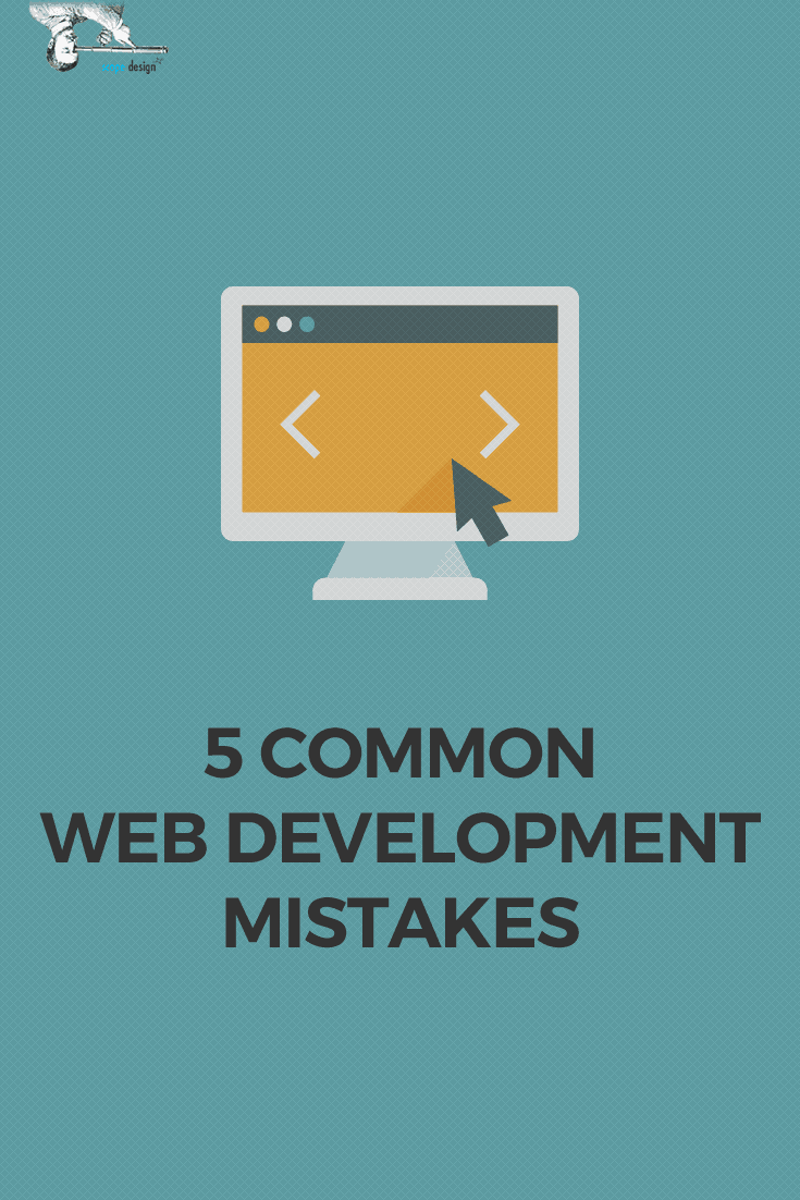 Common WebDev Mistakes Pin