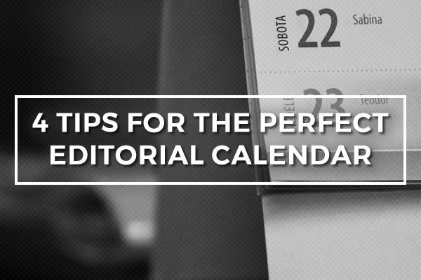 Blog Calendar Post