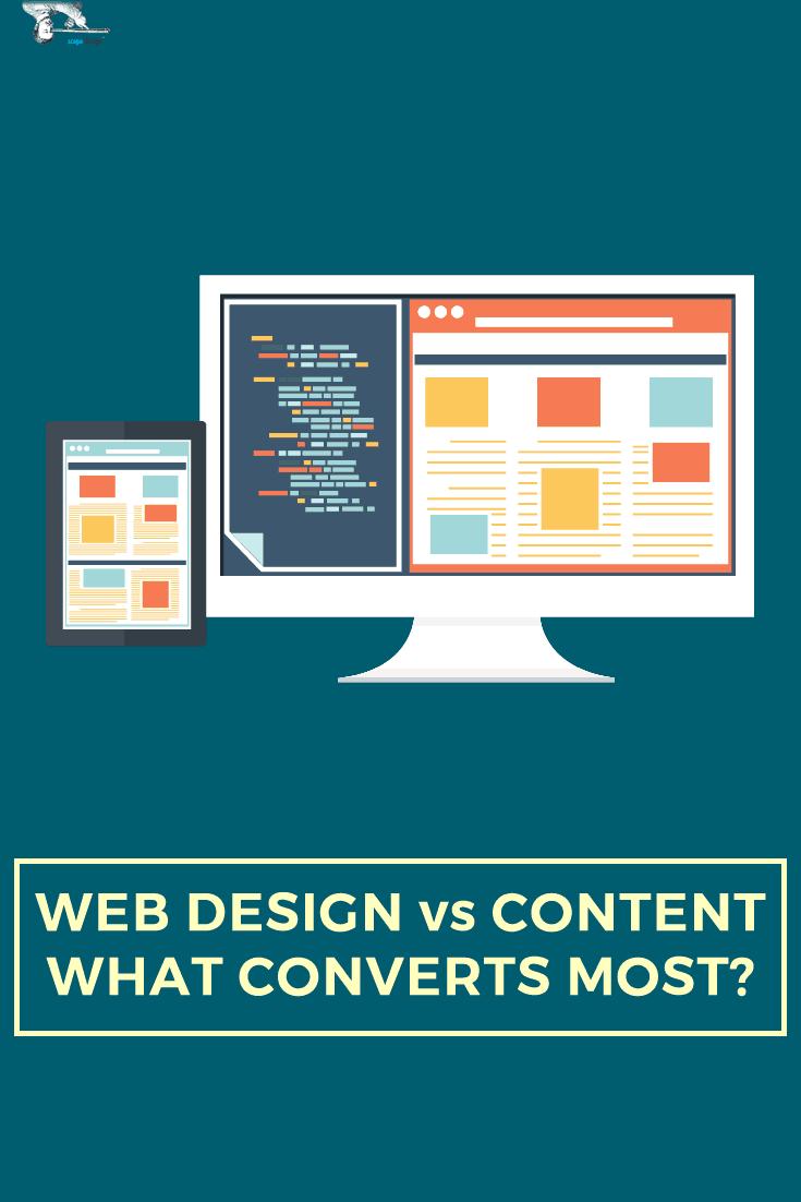 Design vs Content Pin