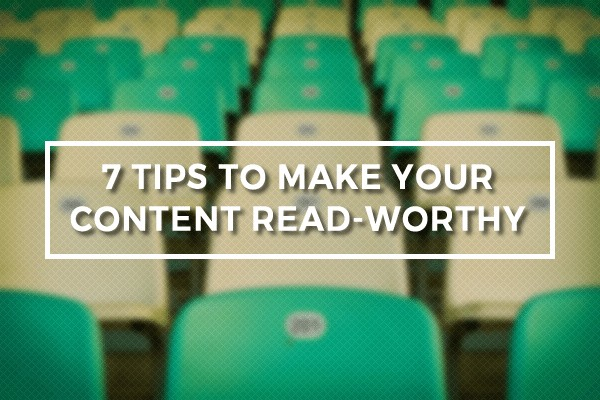 Read Worthy Content Post