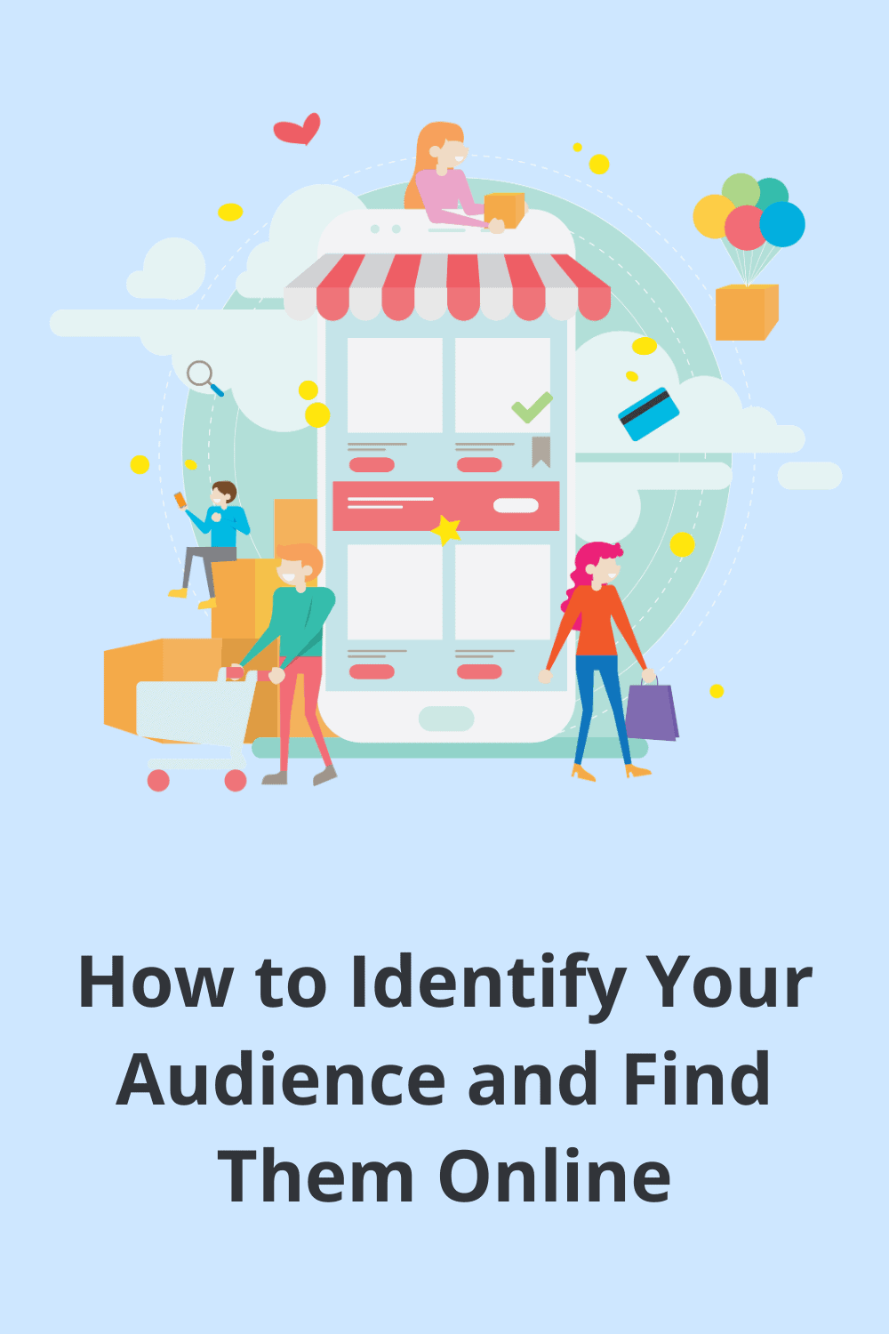 identify audience,finding audience,how to find your target audience on social media,target audience