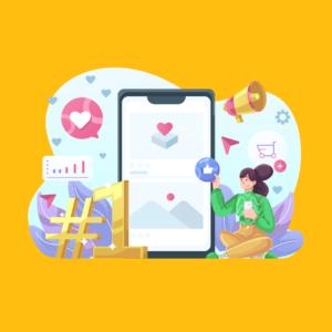 how to create social media presence